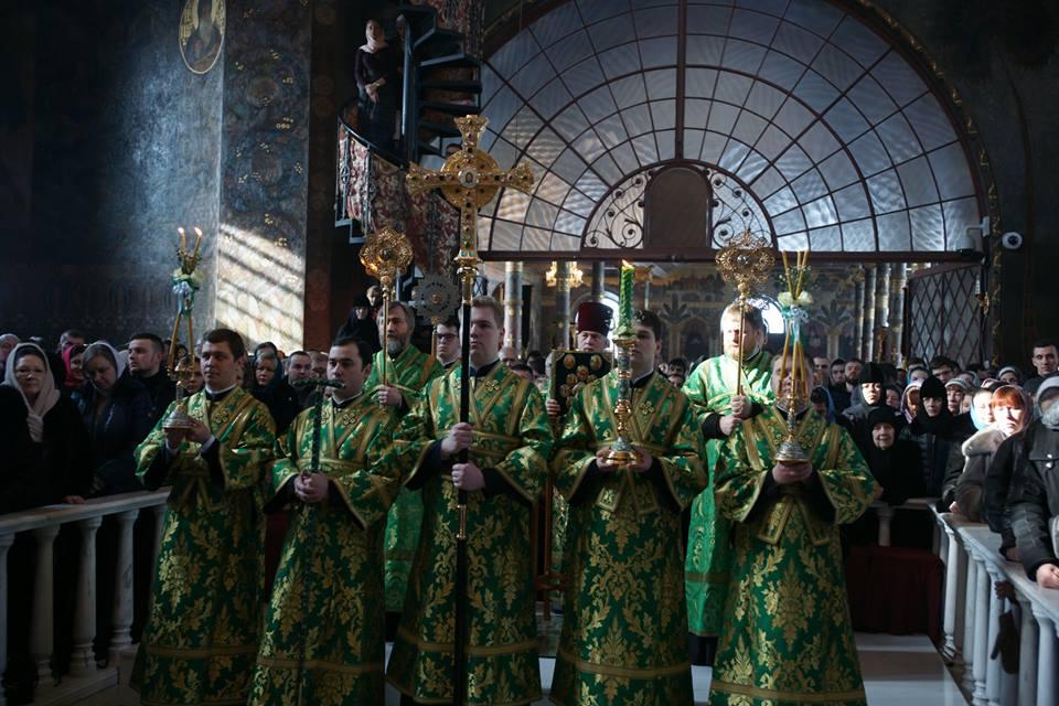 Собор преподобных Печерских в Киево-Печерской лавре