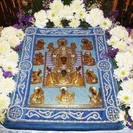 Курская Коренная икона Божией Матери «Знамение» — Одигитрия русского рассеяния