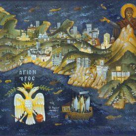 К дню памяти иконы Иверской Божией Матери. Афон