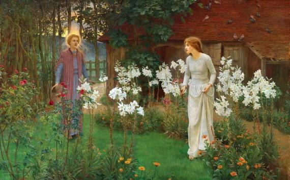 Светлый праздник Благовещения в изобразительном искусстве