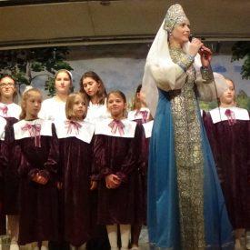 Выступление детской приходской школы Свято-Троицкого храма Торонто