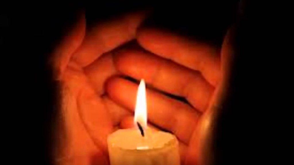Святой огонь страстной свечи