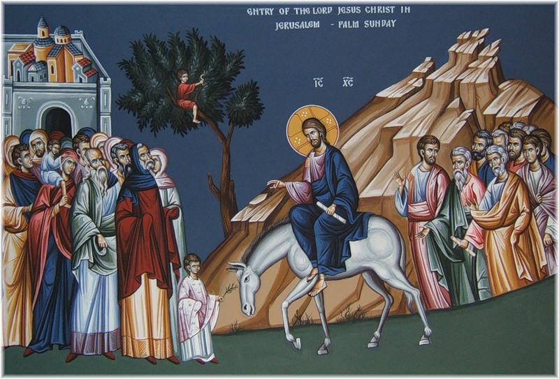 Проповедь на Вход Господень в Иерусалим