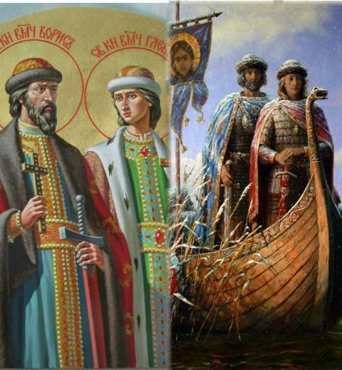 Первые святые: какой подвиг совершили князья Борис и Глеб?