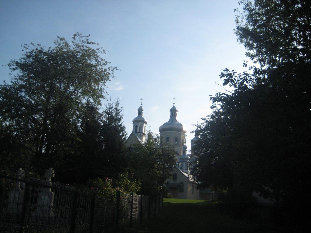 Свято-Вознесенский Чумалевский монастырь в Закарпатье