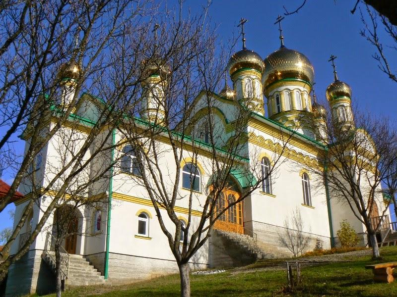 Свято-Георгиевский монастырь в Закарпатье