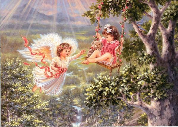 Ангел детства. Международному дню защиты детей посвящается