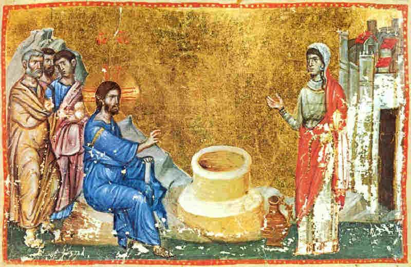 Неделя о самаряныне. Беседа Христа с самарянкой