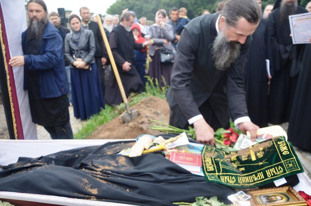 В Киево-Печерской лавре состоялось отпевание архимандрита Вениамина (Бутенко)