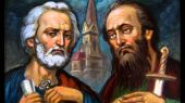 Начало Петрова поста. Святым апостолам Петру и Павлу