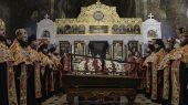 Торжества в Киево-Печерской лавре в день обретения мощей сщмч. Владимира