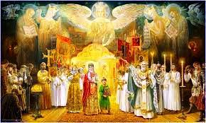 Памяти всех святых, в земле Русской просиявших. Сними обувь свою