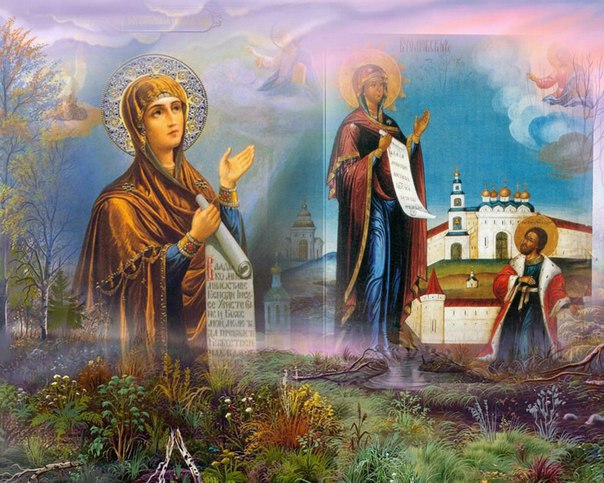 Боголюбская икона Божией Матери