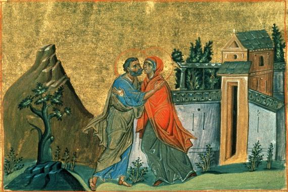 Образ праведной Анны в поэзии. Благовестие Иоакиму и Анне