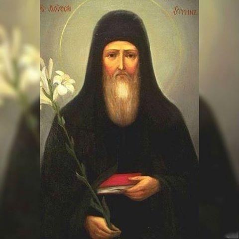 8 августа - день памяти прп. Моисея Угрина, 8 августа — день памяти прп. Моисея Угрина