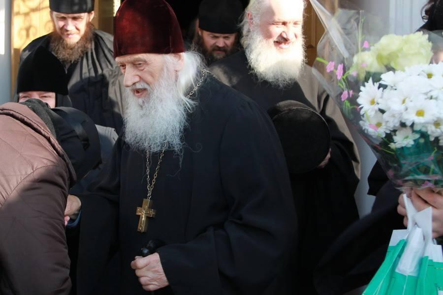 Поздравляем старейшего насельника Киево-Печерской лавры с днем Ангела!