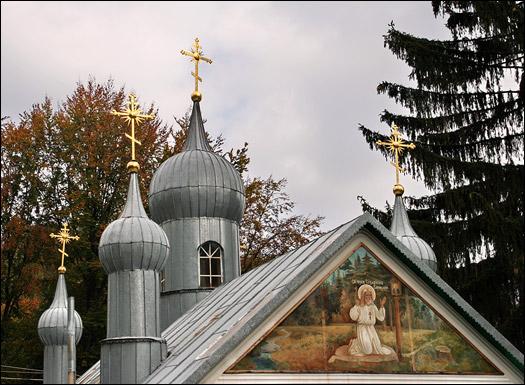 Свято-Серафимов монастырь в Карпатах