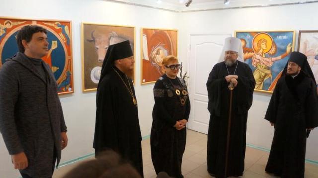 Открытие выставки сакральной живописи «Уверенность в невидимом»