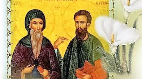 Память святых бессребреников Кира и Иоанна
