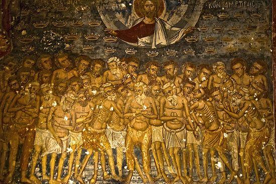 Сорок мучеников Севастийских — это святые первых веков христианства