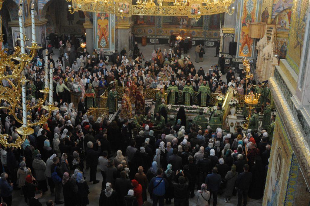 Торжества в Почаевской Лавре в день памяти прп. Амфилохия