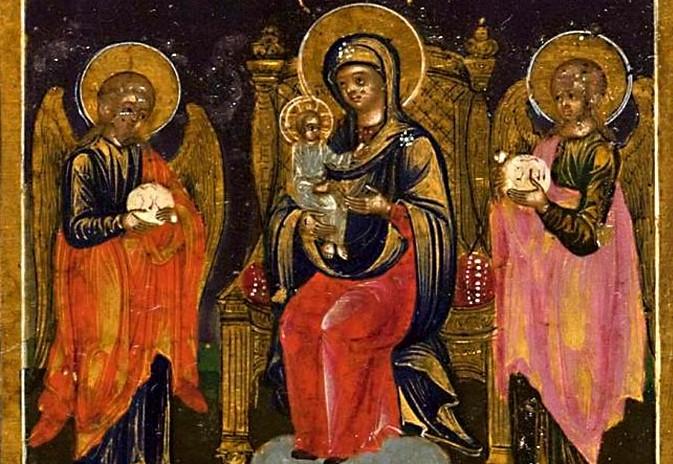 Чудотворная икона Божией Матери «Кипрская»