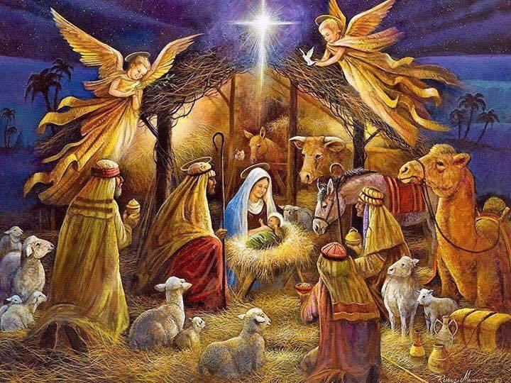 В Рождественскую ночь святую