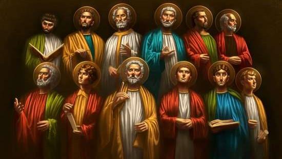 Собор святых славных и всехвальных 12 апостолов