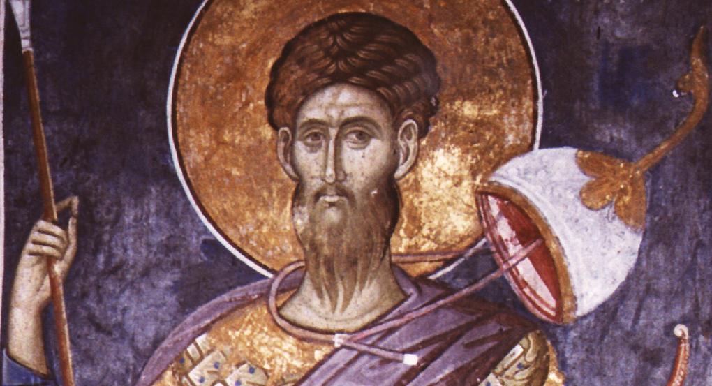 Память великомученика Феодора Стратилата