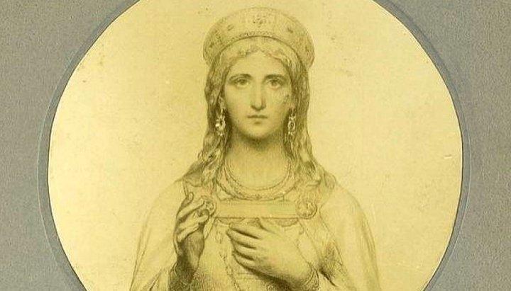 Обретение мощей прав. девы Иулиании, кн. Ольшанской (XVI)