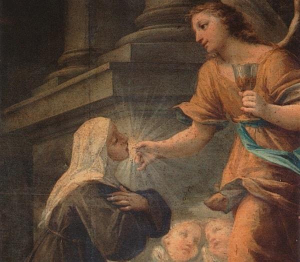 Святая Ангелина, деспотисса Сербская, и ее супруг Стефан