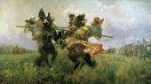 Преподобный Александр Пересвет, воин, схимонах