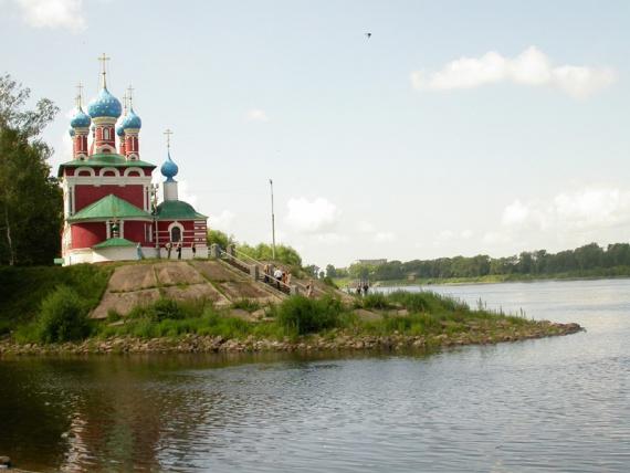 Угличский кремль, церковь Дмитрия на крови 1692 г.