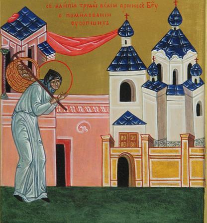 Ношение матушкой панихид в Демиевский храм