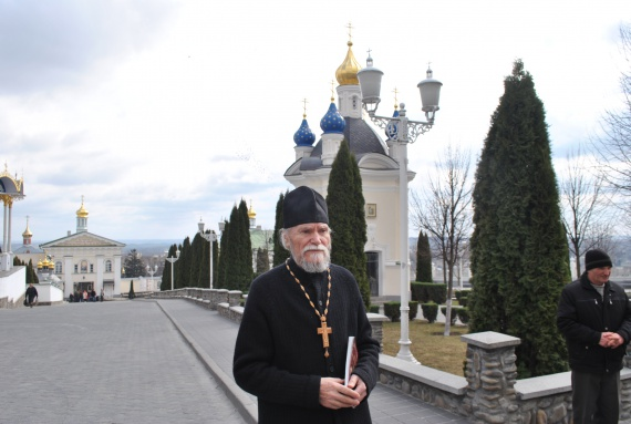 Отец Мефодий в Почаевской Лавре
