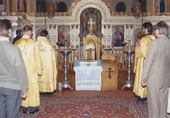 Протоиерей Мефодий Финкевич - избранник Божией Матери