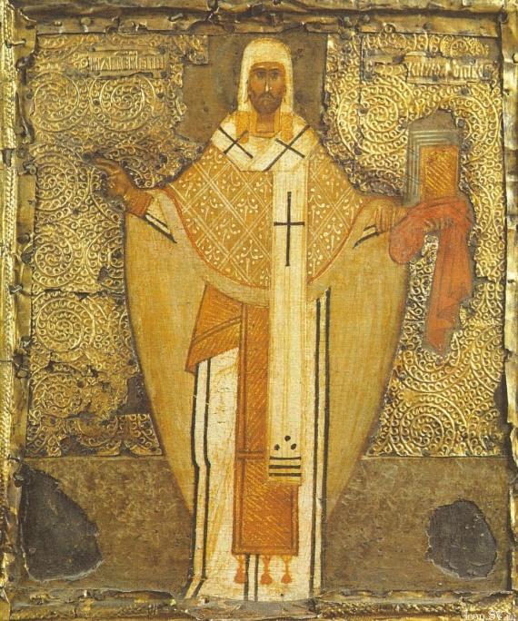 Древний монастырь св. Михаила на Зверинецкой горе в Киеве
