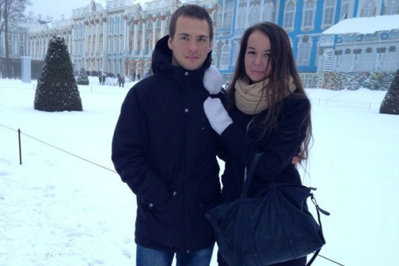 Евгений Явсинов и Александра Чернова, Санкт-Петербург