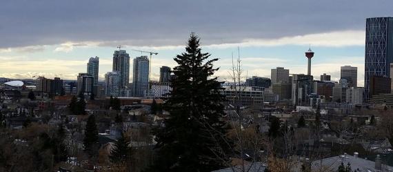Светлый праздник Введения в канадском Калгари