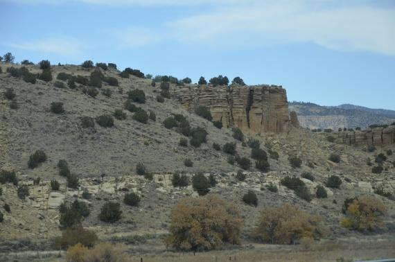 Из Аризоны — в Нью-Мексико. ХребтыСкалистых гор