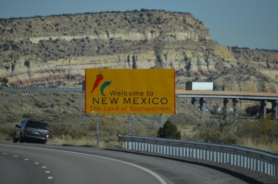 Из Аризоны — в Нью-Мексико
