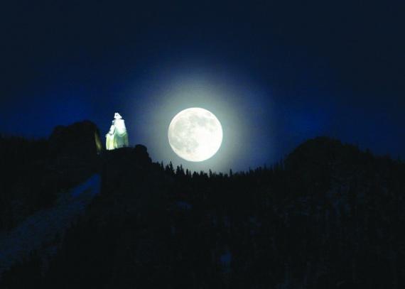 Хранительница Монтаны — Божия Матерь Скалистых Гор (Our Lady of the Rockies)