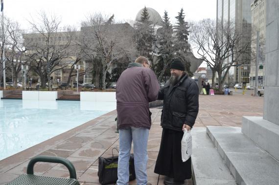 Рождественские встречи: Высокопреосвященный Иов, Управляющий Патриаршими приходами в Канаде
