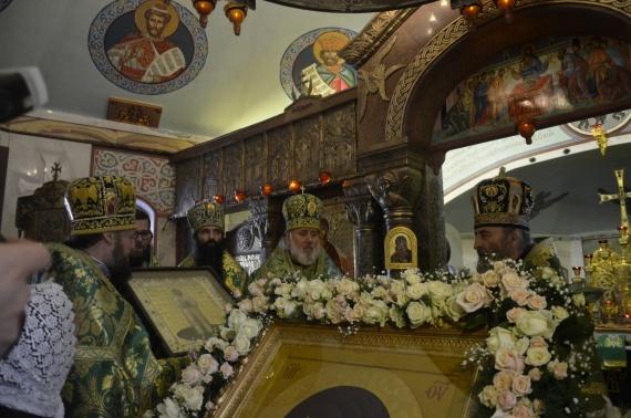 Икона новопрославленного святого - в дар Предстоятелю