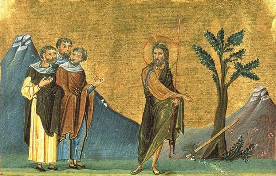 Похвальное слово Иоанну Крестителю