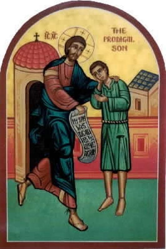 Блудный сын и Милосердный Отец