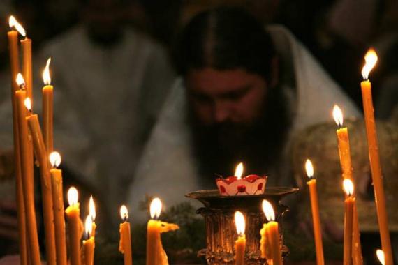 Видение афонского монаха во время панихиды