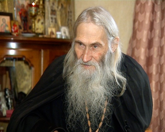 Схиархимандриту Илию в день его 87-летия