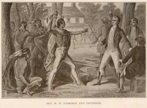 battle of tippecanoe and old tecumseh Nearly one thousand shawnee, including methoataske, the mother of eleven-year-old tecumseh and four-year-old lalawethika  the battle of tippecanoe was over.