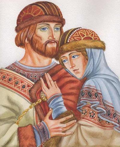 Благоверные князья Петр и Феврония, муромские чудотворцы